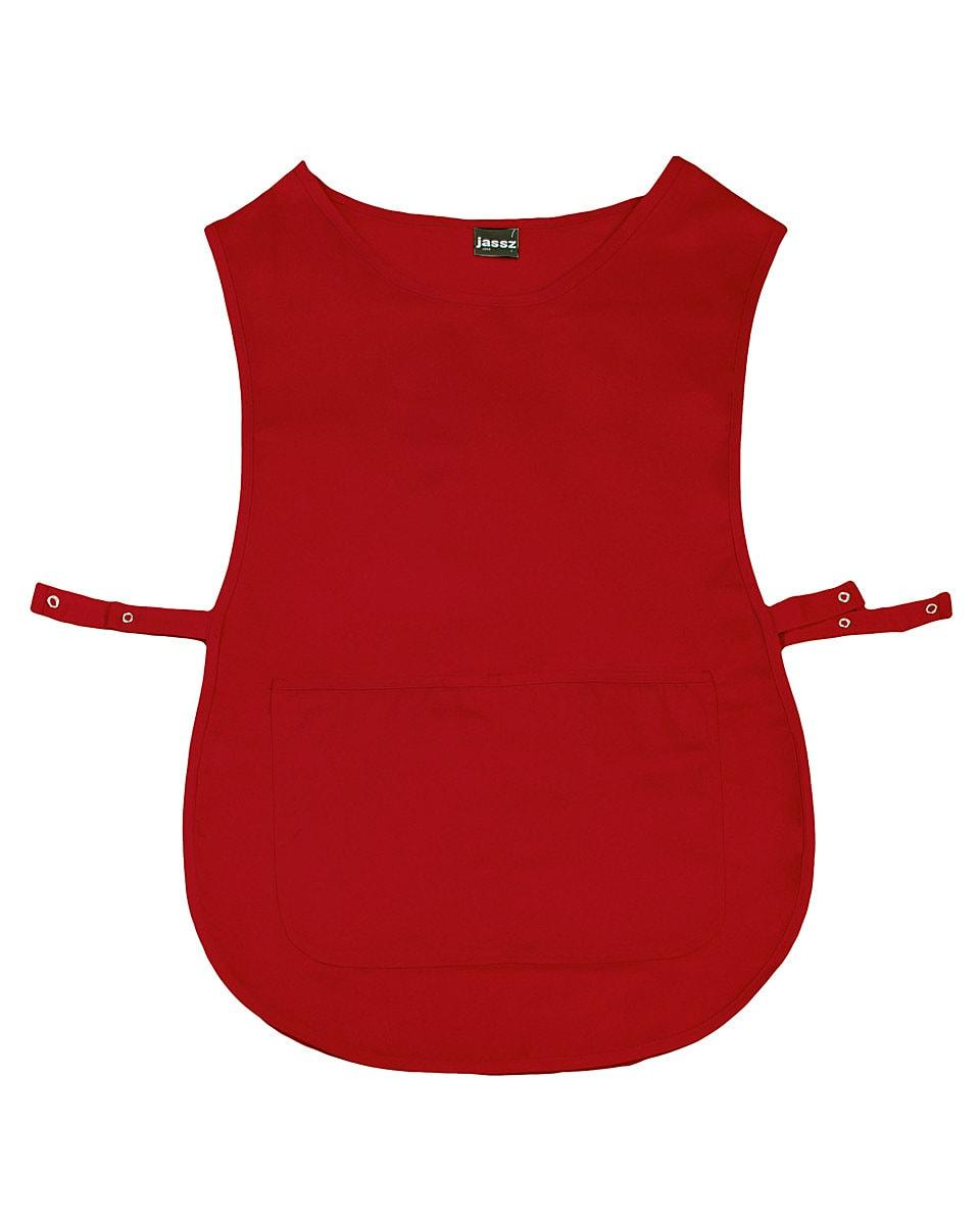 Jassz Bistro Madrid Tabard in Red (Product Code: JG24)