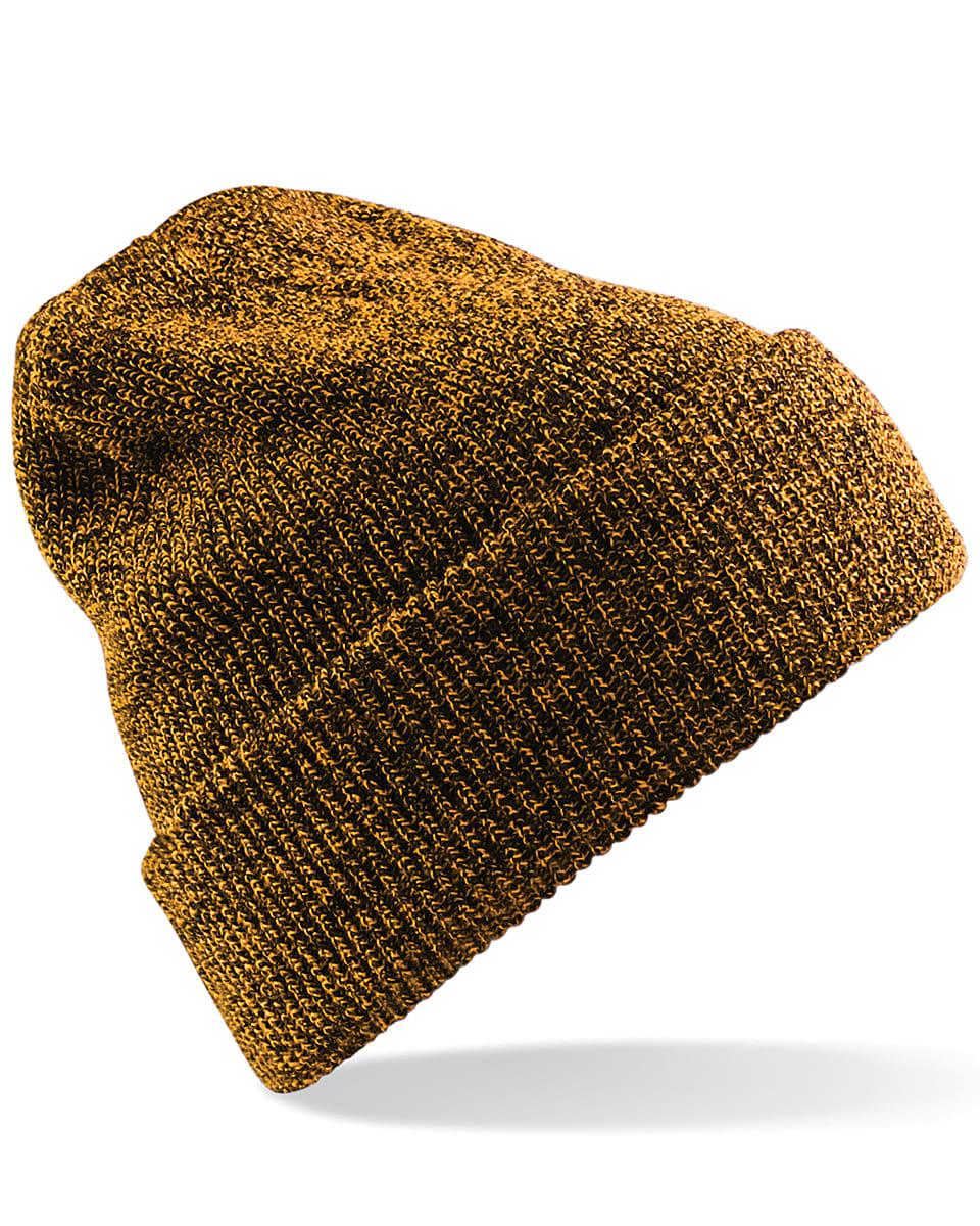Beechfield Heritage Beanie Hat in Antique Mustard (Product Code: B425)