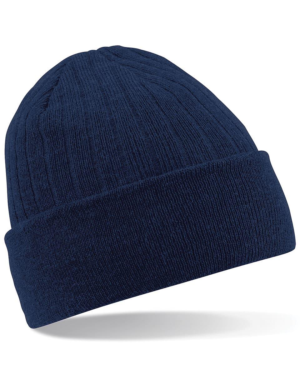 Beechfield Thinsulate Beanie Hat in French Navy (Product Code: B447)