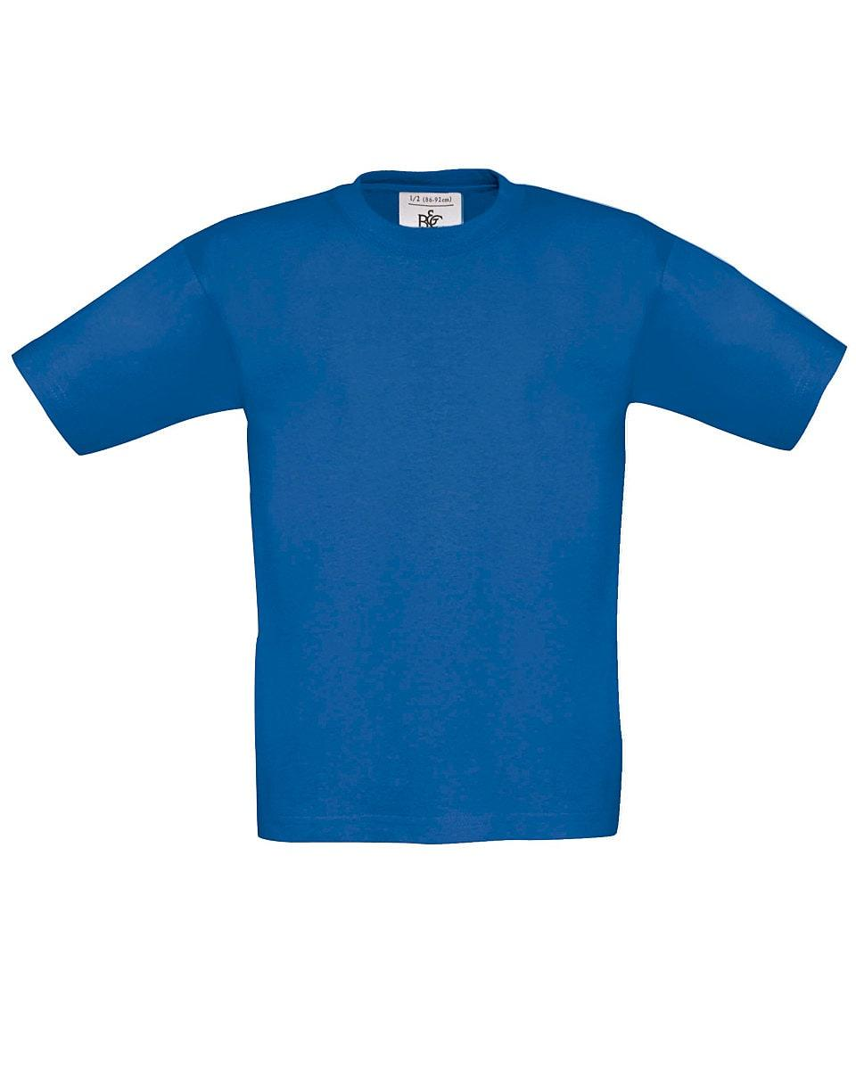 B&C Childrens Exact 150 T-Shirt in Royal Blue (Product Code: TK300)