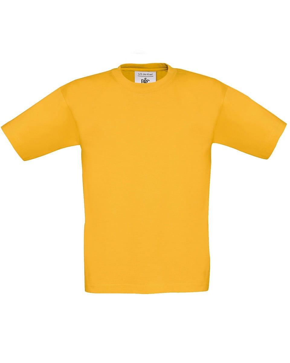 B&C Childrens Exact 190 T-Shirt in Gold (Product Code: TK301)