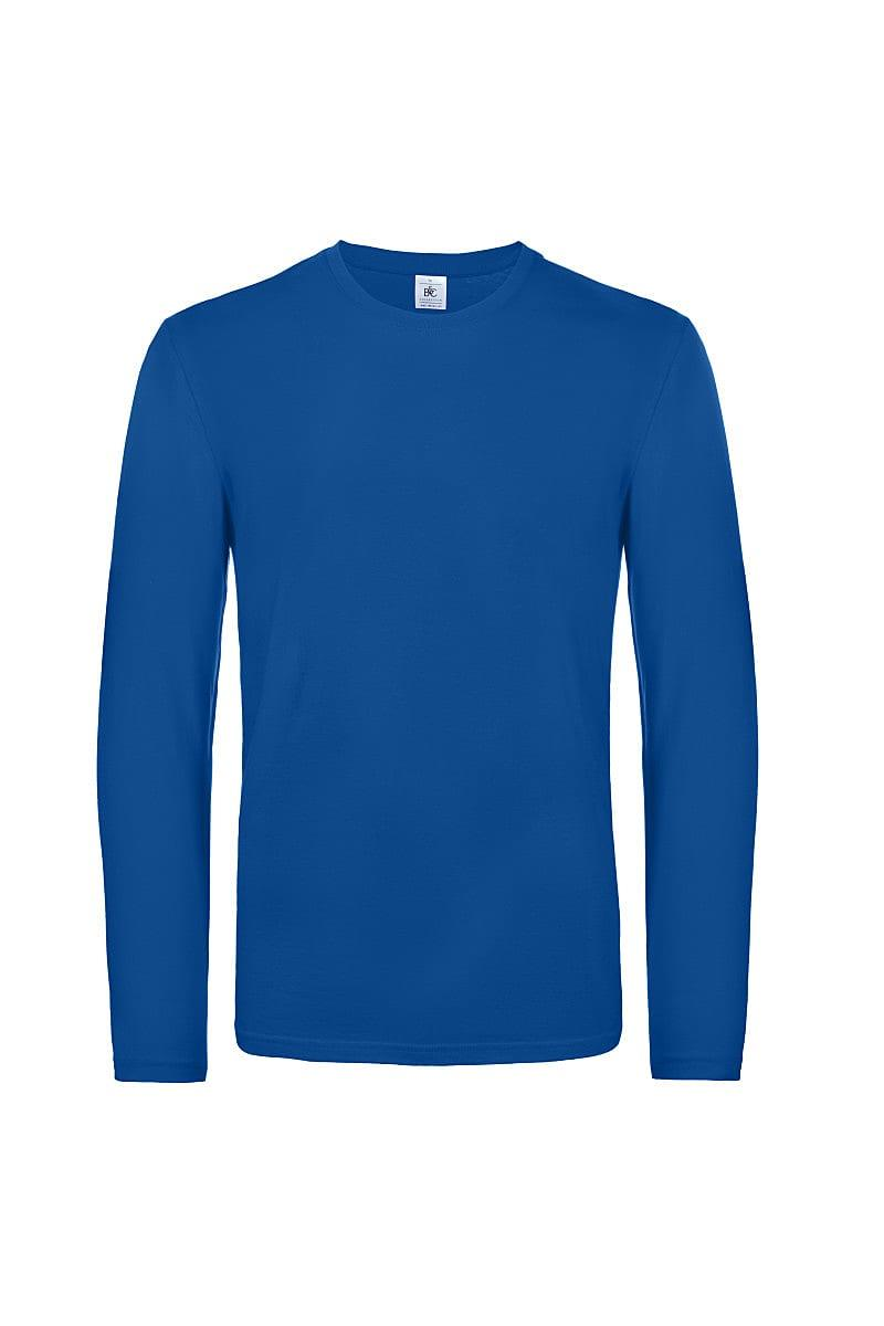 B&C Mens E190 Long-Sleeve Jersey in Royal Blue (Product Code: TU07T)