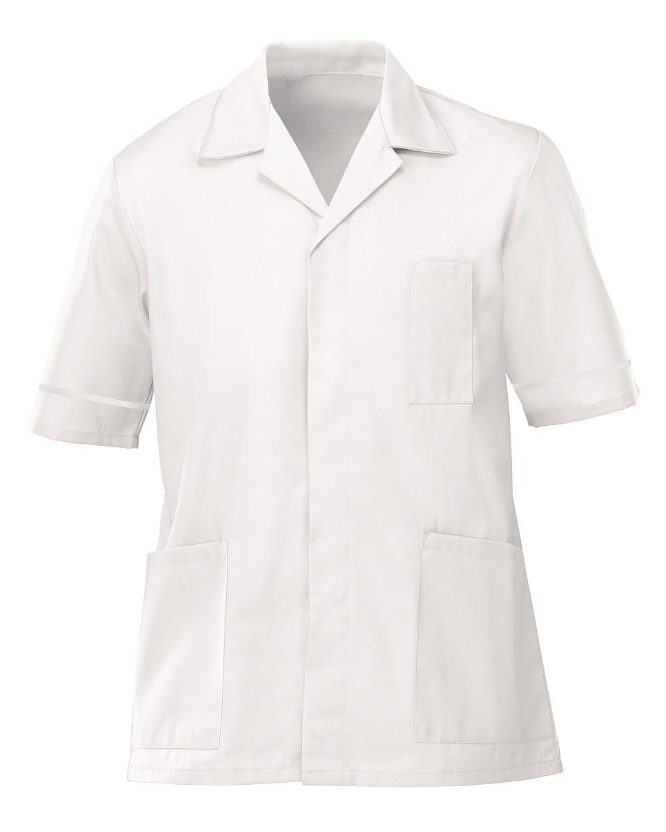 Alexandra Mens Lightweight Tunic in White (Product Code: NM48)
