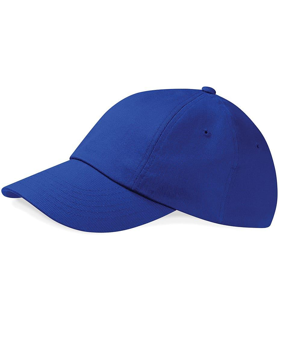 Beechfield Low Profile Heavy Drill Cap in Bright Royal (Product Code: B58)