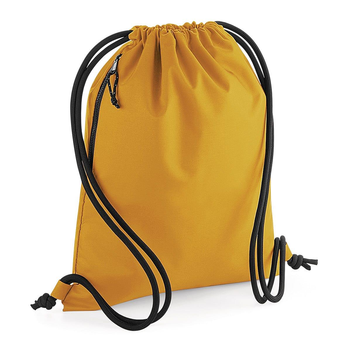 Bagbase Recycled Gymsac in Mustard (Product Code: BG281)