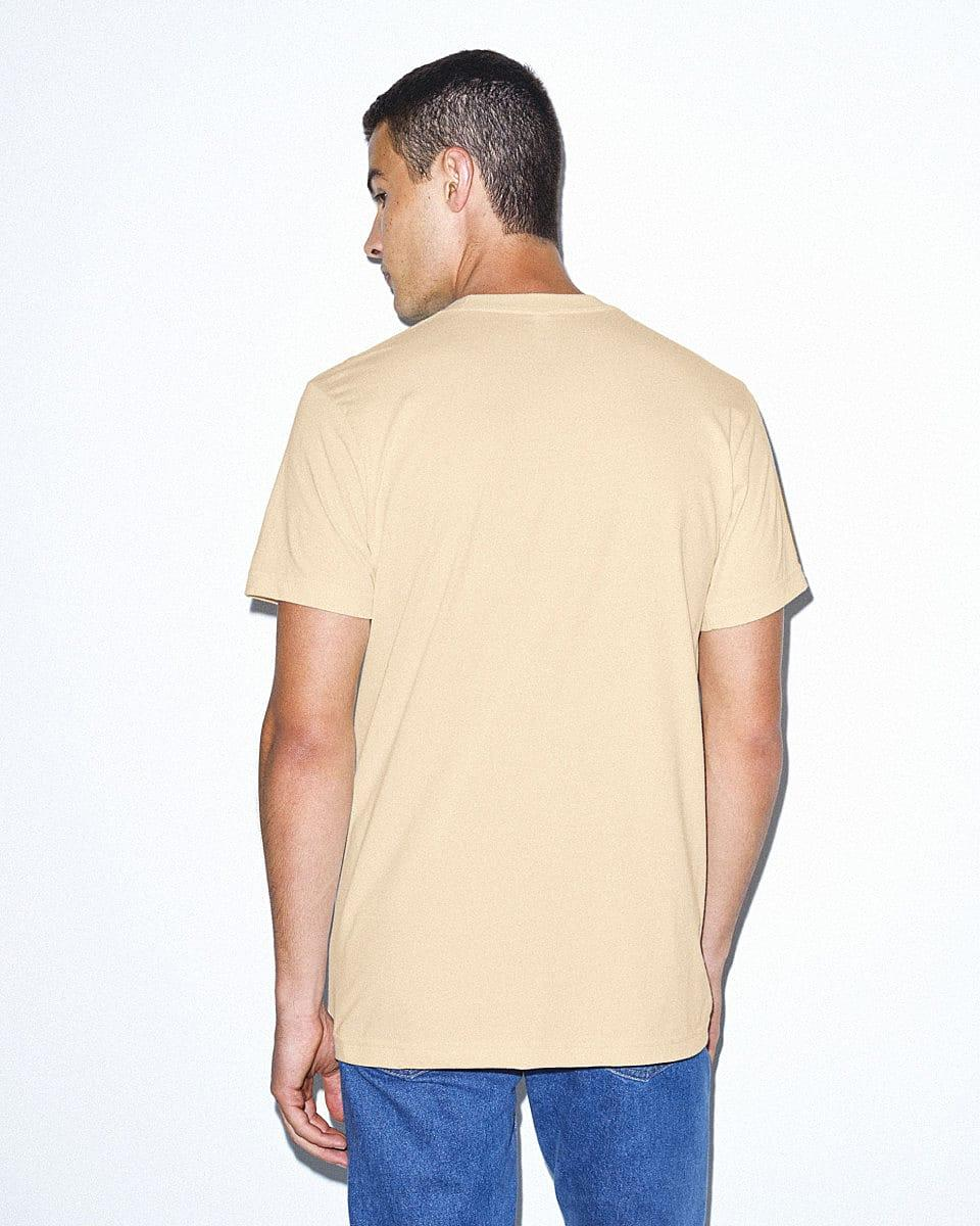 American Apparel Unisex Organic T-Shirt in Natural (Product Code: 2001ORGW)
