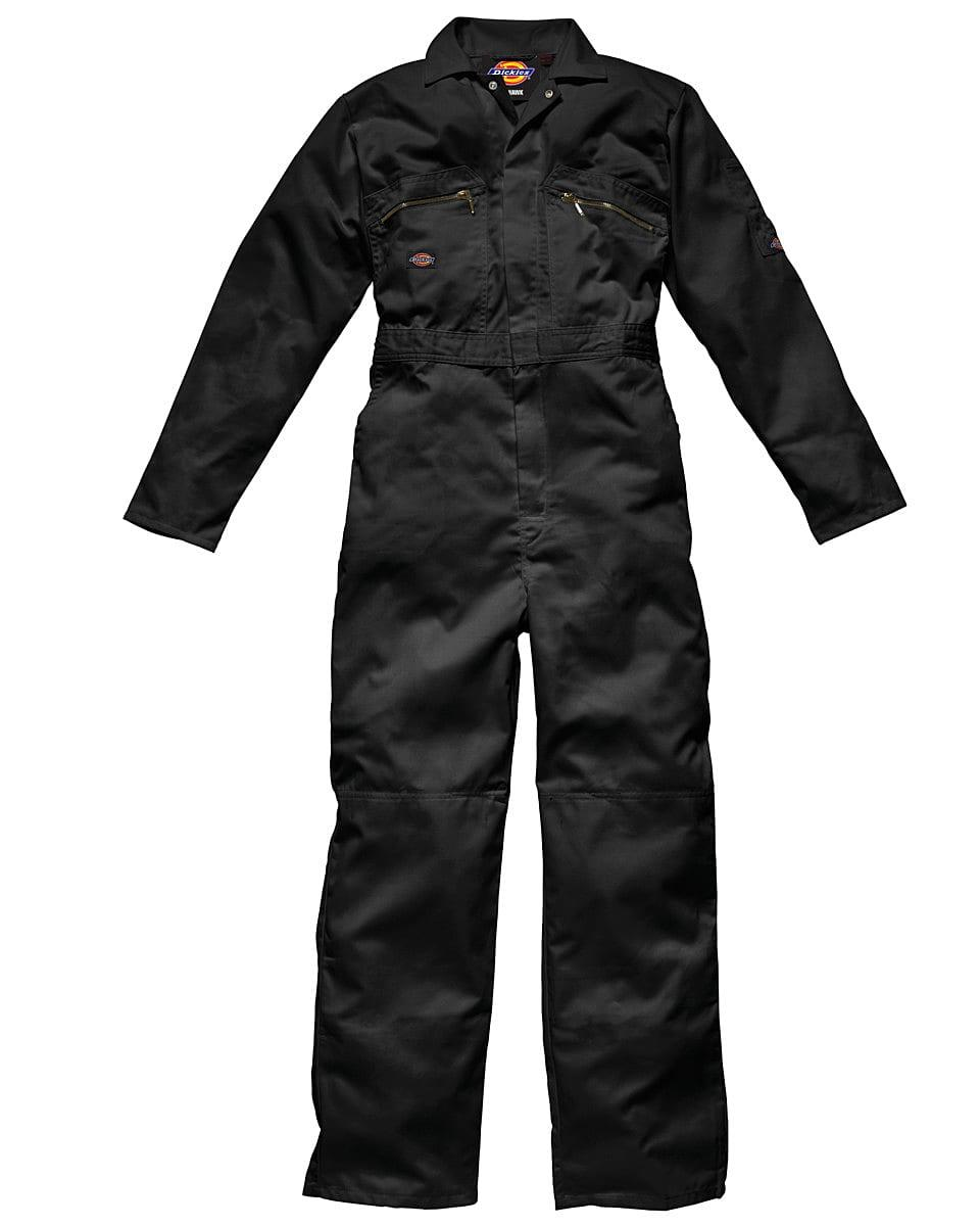 Dickies Redhawk Zip Front Coverall Tall in Black (Product Code: WD4839T)