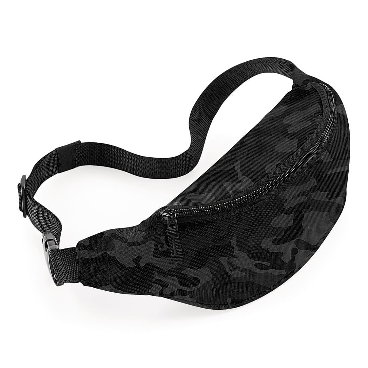 Bagbase Belt Bag in Midnight Camo (Product Code: BG42)