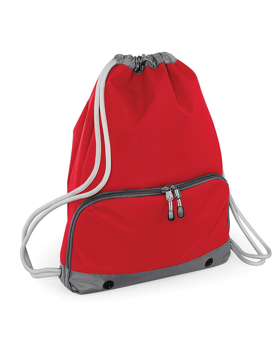 Bagbase Athleisure Gymsac in Classic Red (Product Code: BG542)