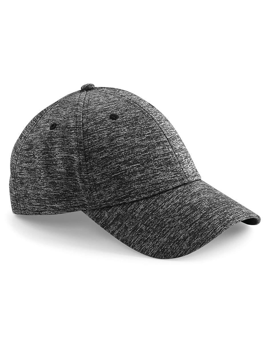 Beechfield Spacer Marl Stretch Fit Cap in Spacer Grey (Product Code: B676)