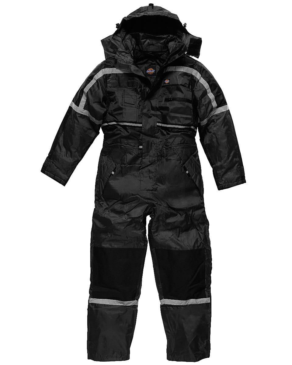 Dickies Waterproof Padded Coverall in Black (Product Code: WP15000)