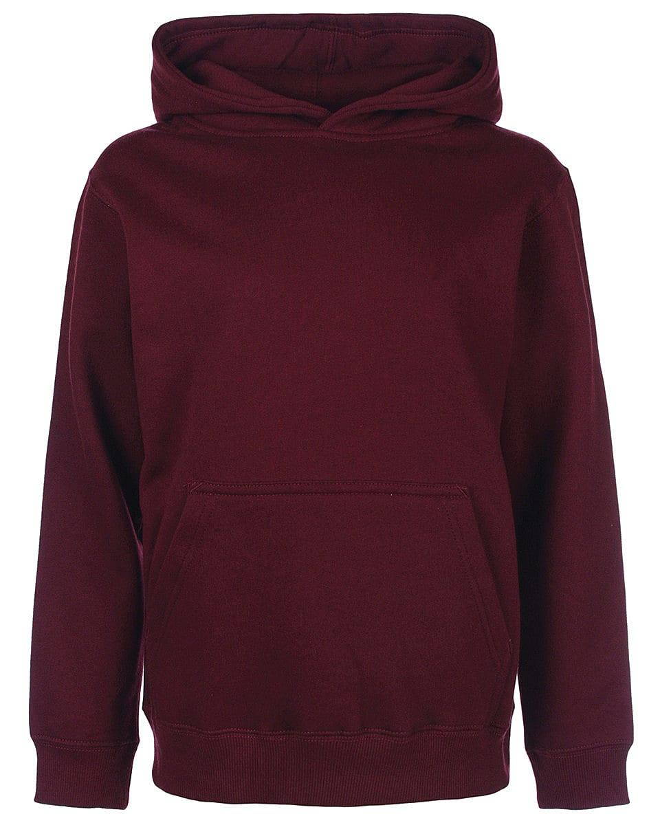 FDM Junior Hoodie in Burgundy (Product Code: FH004)