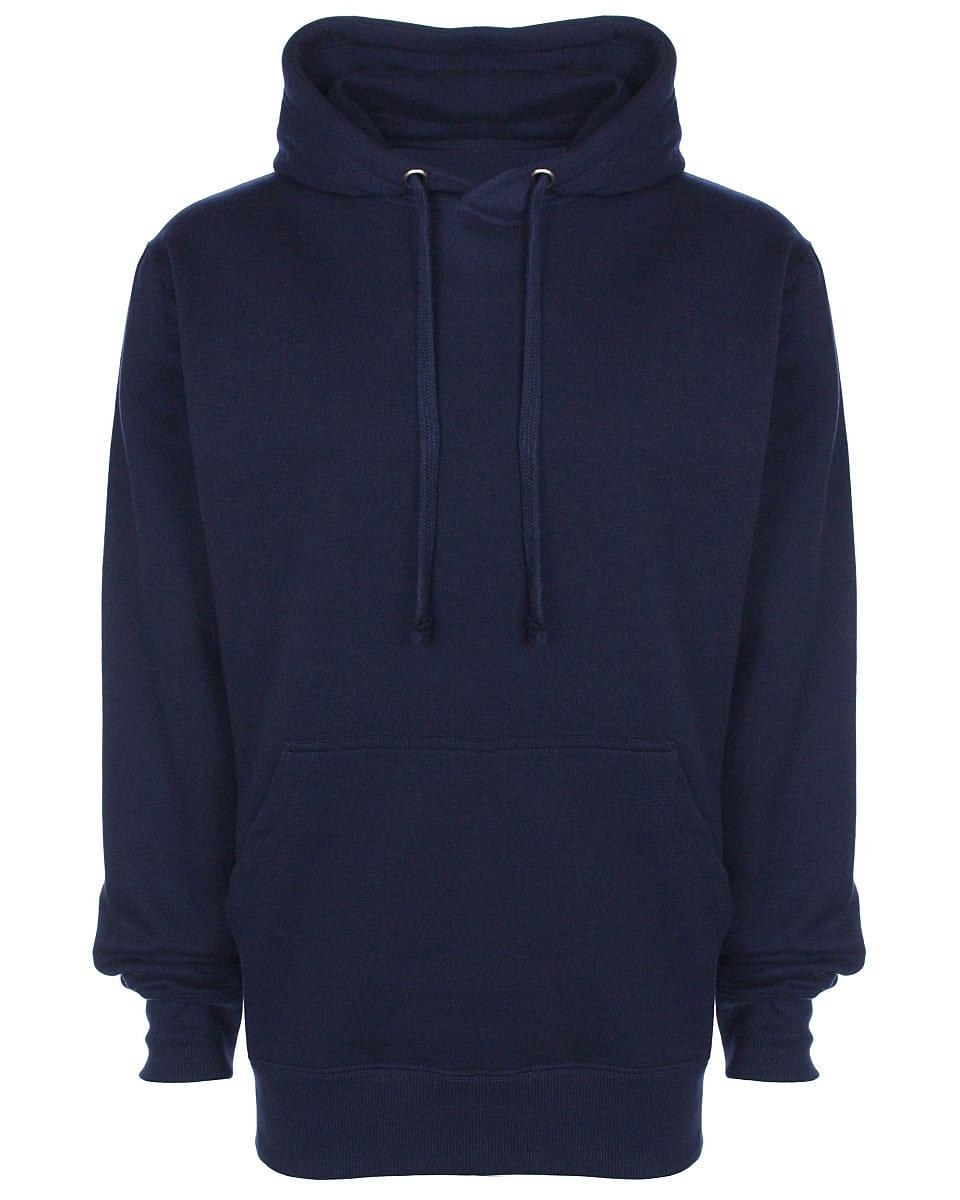 FDM Unisex Tagless Hoodie in Navy Blue (Product Code: TH001)