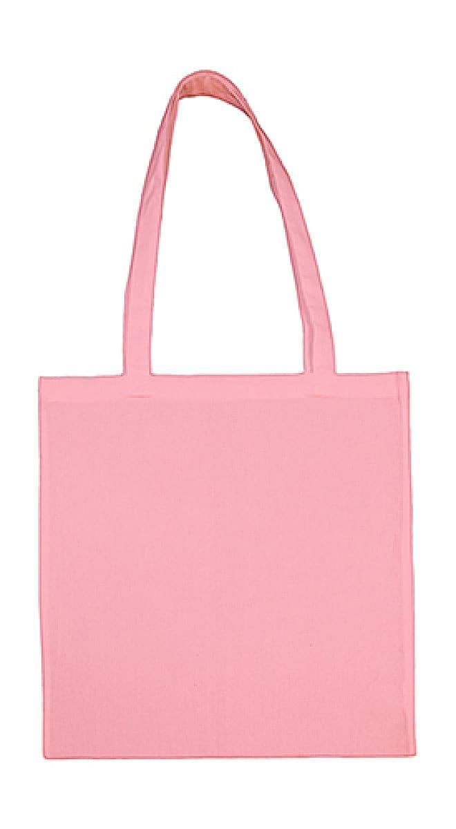 Jassz Bags Beech Cotton Long-Handle Bag in Rose (Product Code: 3842LH)