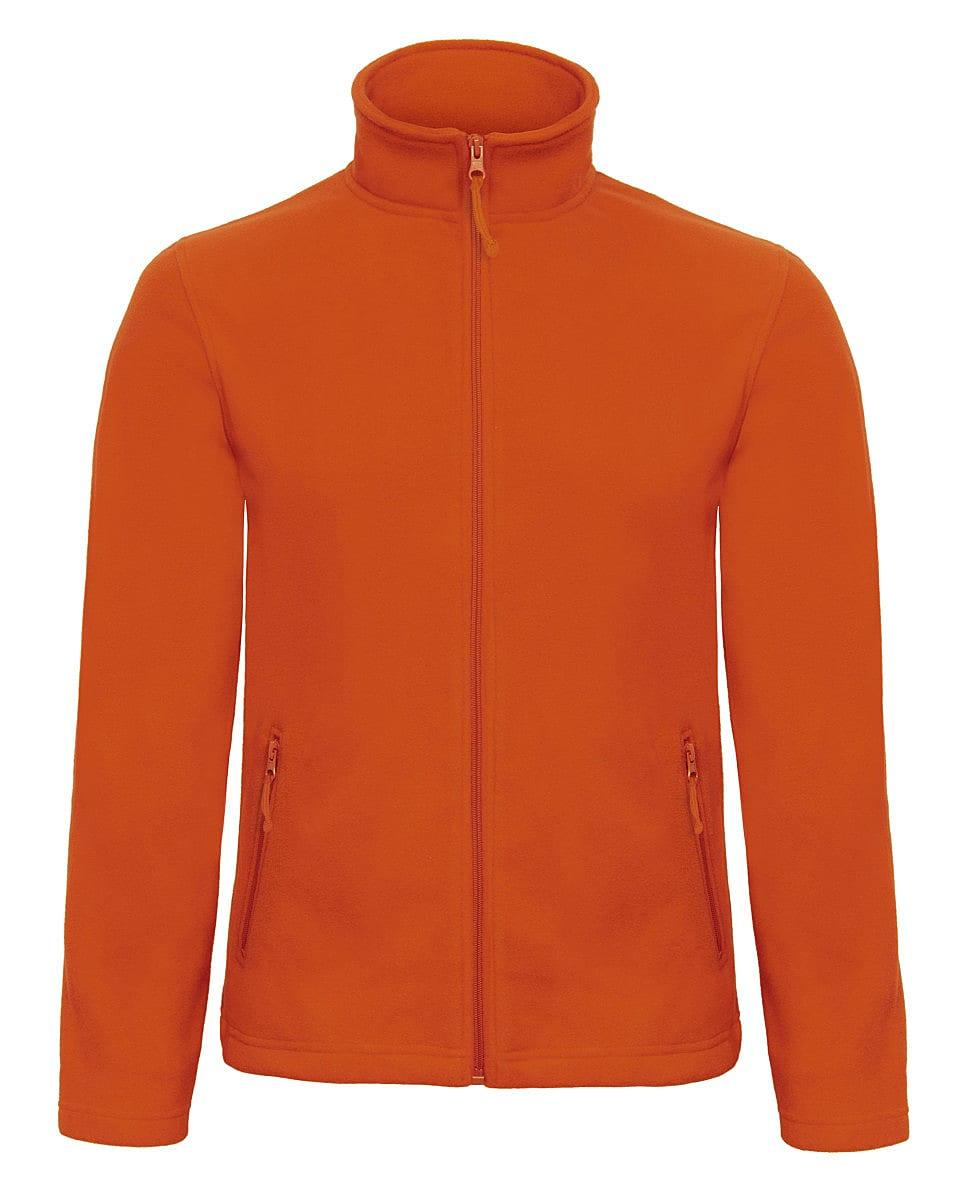 B&C Mens ID.501 Fleece Jacket in Pumpkin Orange (Product Code: FUI50)