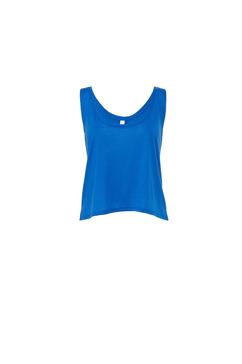 Bella Womens Flowy Boxy Tank in True Royal (Product Code: BE8880)