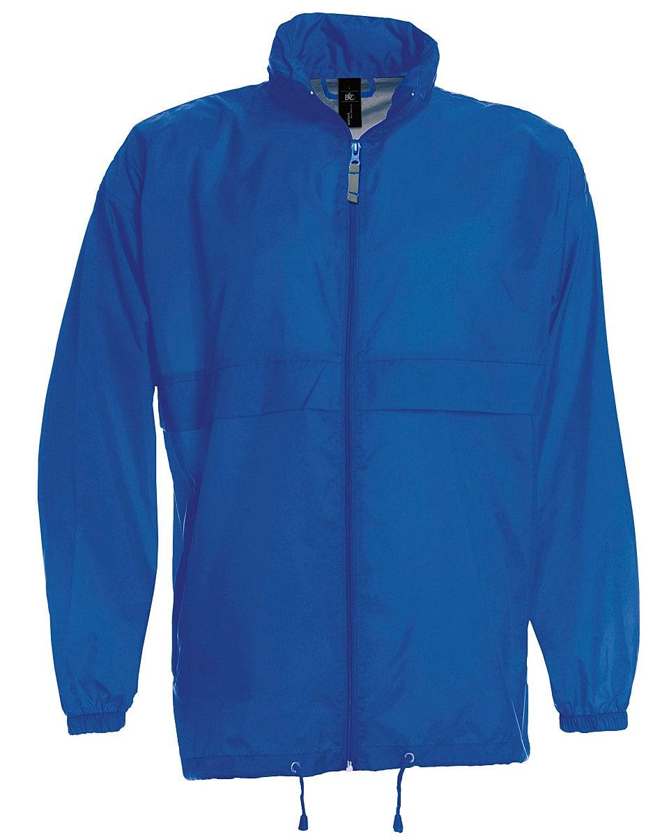B&C Mens Sirocco Lightweight Jacket in Royal Blue (Product Code: JU800)