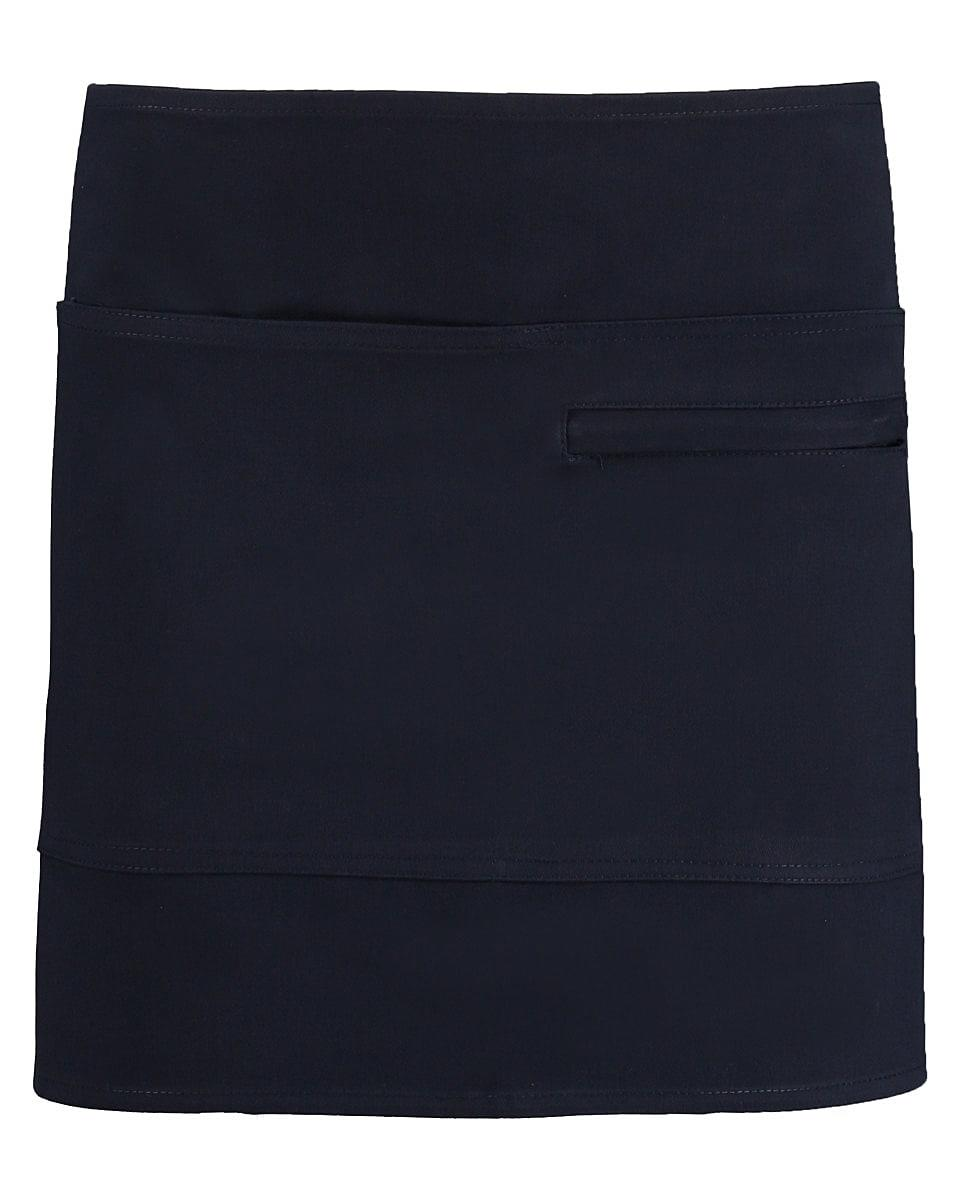 Bargear Unisex Short Bar Apron in Navy Blue (Product Code: KK513)