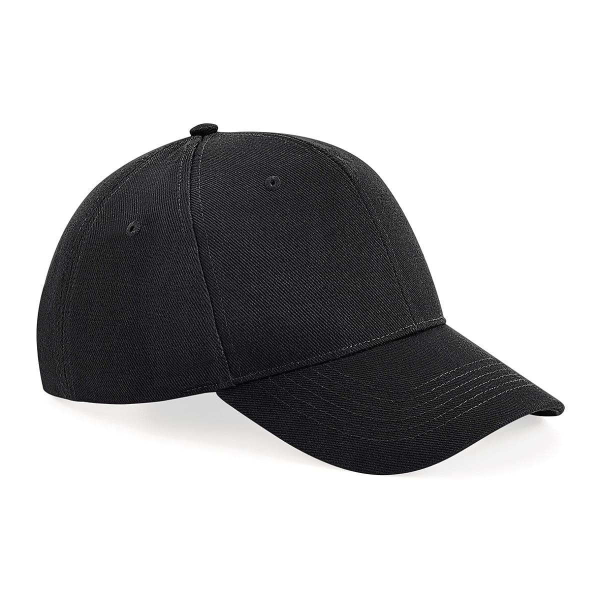 Beechfield Untimate 6 Panel Cap in Black (Product Code: B18)