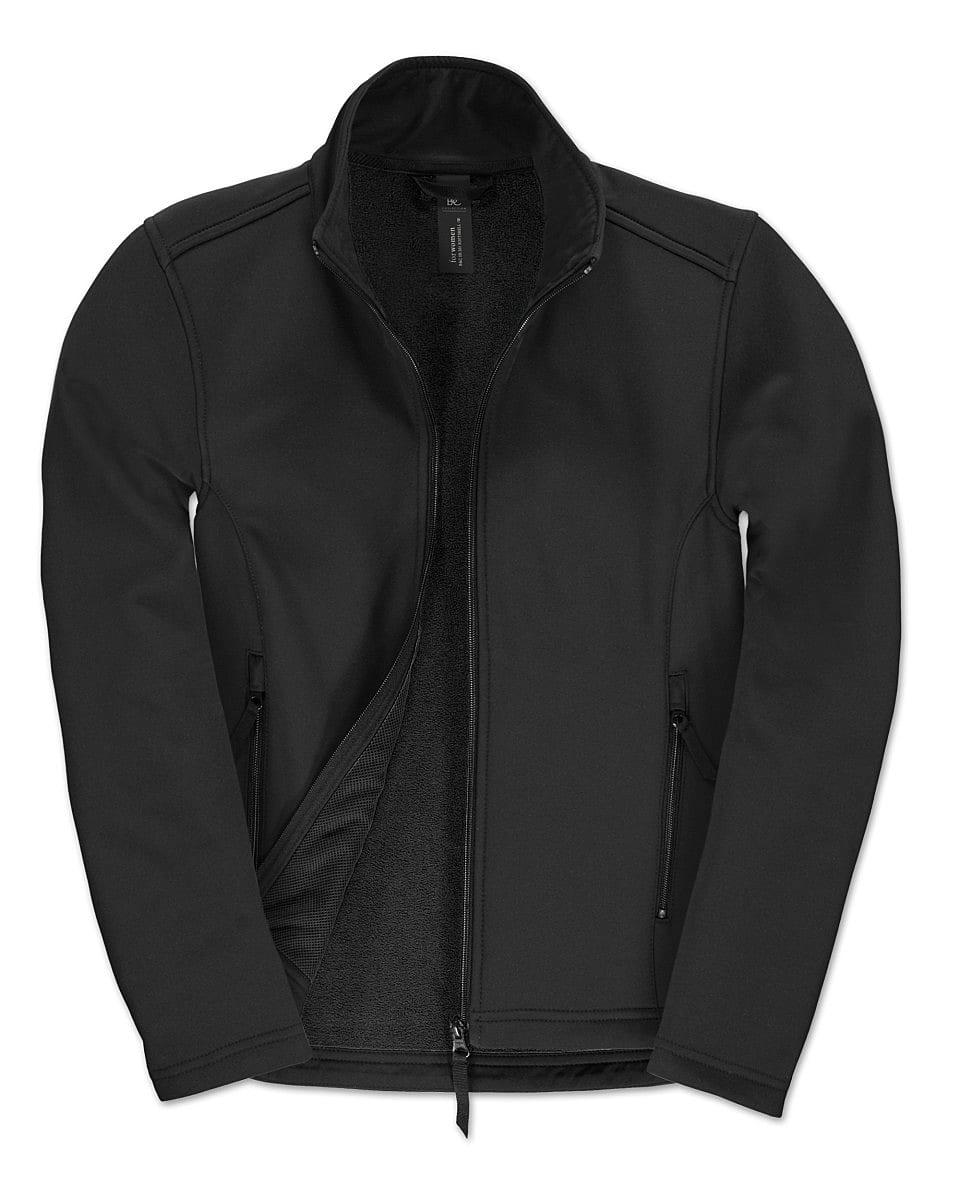 B&C Womens ID.701 Softshell Jacket in Black (Product Code: JWI63)