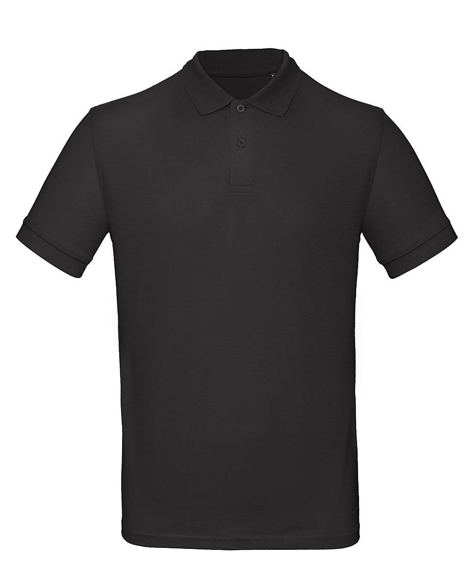 B&C Mens Inspire Polo Shirt in Black (Product Code: PM430)