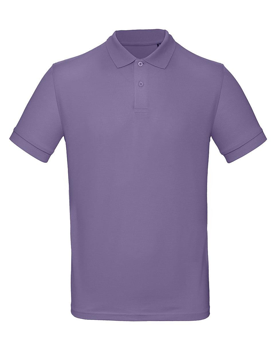 B&C Mens Inspire Polo Shirt in Millennial Lilac (Product Code: PM430)