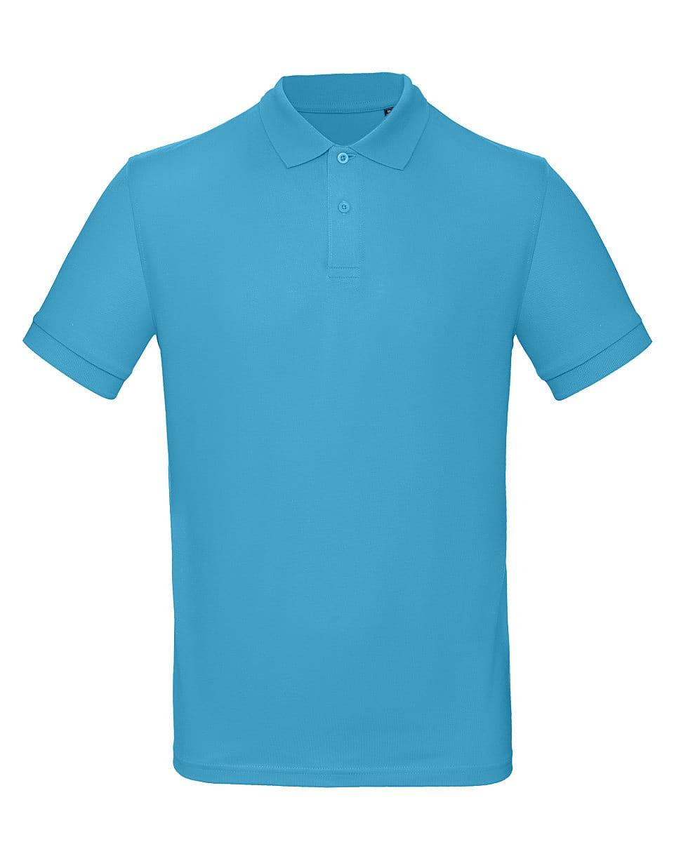 B&C Mens Inspire Polo Shirt in Very Turquoise (Product Code: PM430)