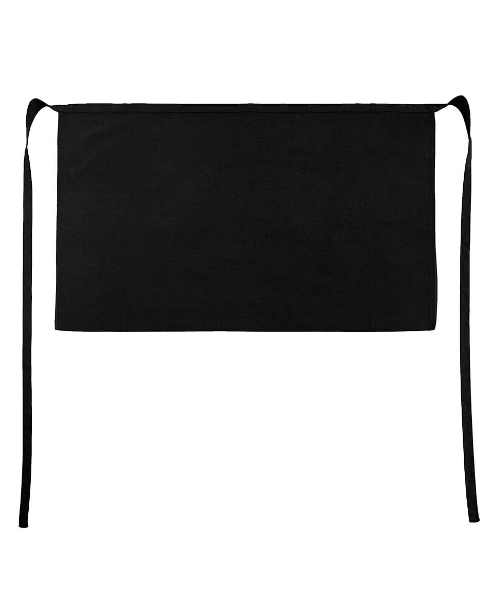 Jassz Bistro Brussels Short Apron in Black (Product Code: JG14)