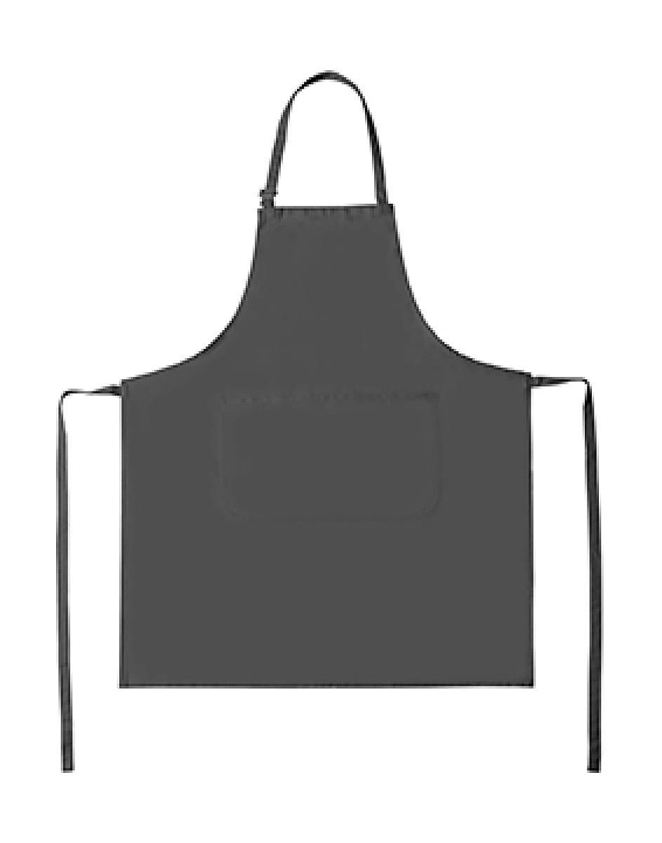 Bistro By Jassz Lisbon Cotton Bib Apron in Grey (Product Code: JG20)