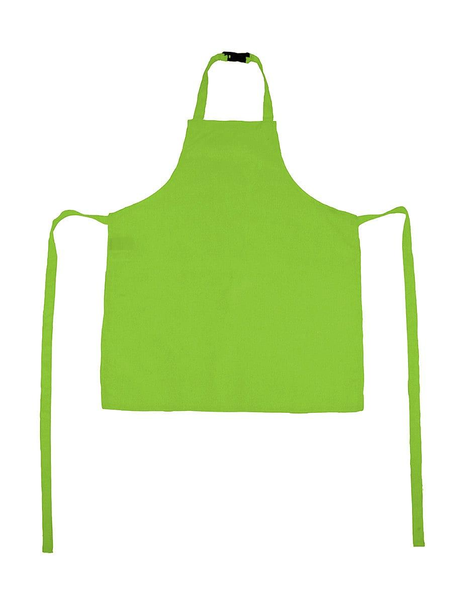 Jassz Bistro Childrens Vienna Apron in Lime (Product Code: JG21K)