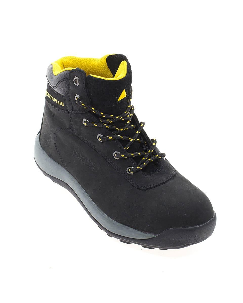 Delta Plus LH842 Nubuck Leather Hiker Boots in Black (Product Code: DELTA-LH842SM)