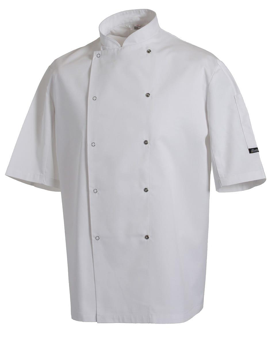 Dennys AFD Chefs Jacket in White (Product Code: DD08SAFD)