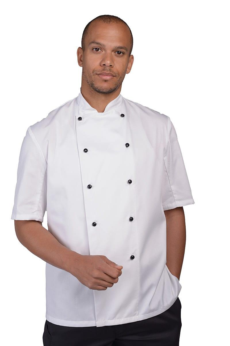 Dennys AFD Thermocool Chefs Jacket in Black (Product Code: DD20AFD)