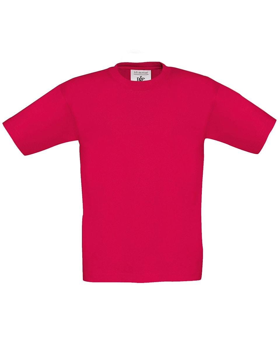 B&C Childrens Exact 190 T-Shirt in Sorbet (Product Code: TK301)