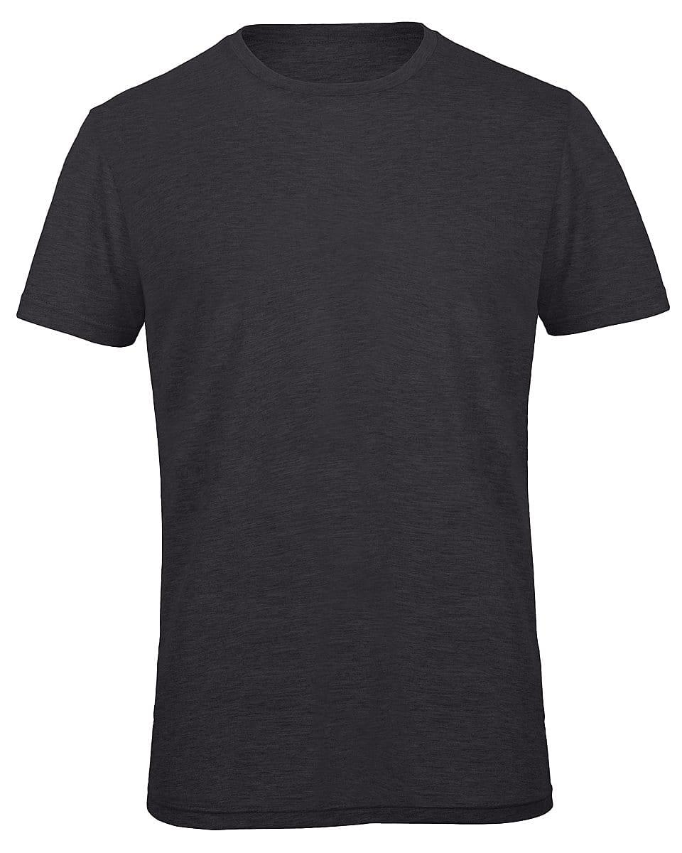 B&C Mens Inspire Triblend T-Shirt in Heather Dark Grey (Product Code: TM055)