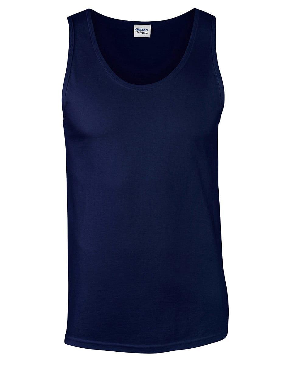 64200 6-Colour Gildan Softstyle® Adult Tank Top Work Wear Causal Top S-2XL