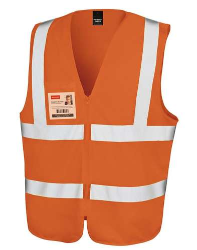 Result Safeguard Zip Safety Tabard
