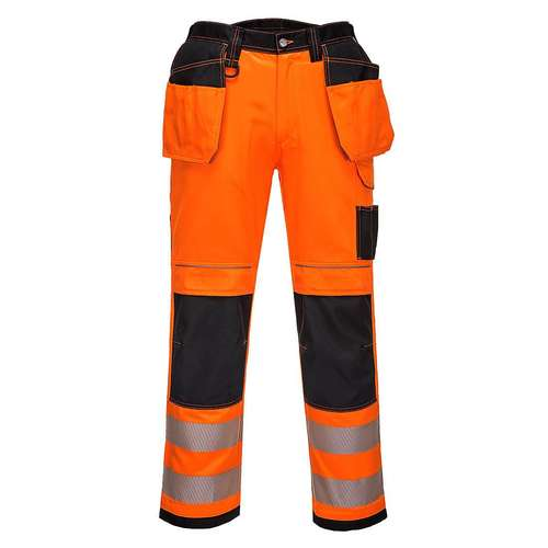 Portwest PW3 Hi-Viz Holster Work Trousers