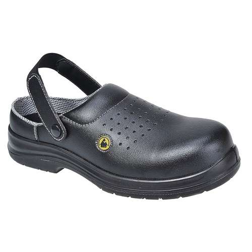 Portwest Composite-Lite ESD Perforated Safety Clog SB AE