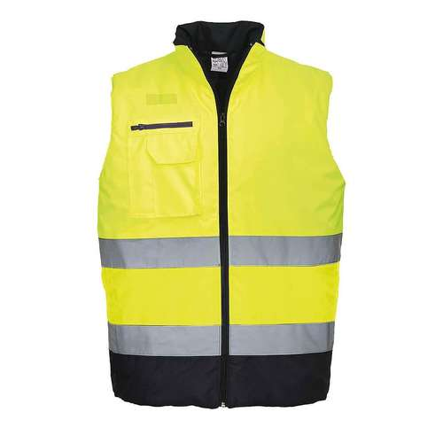 Portwest Hi-Viz Two Tone Bodywarmer
