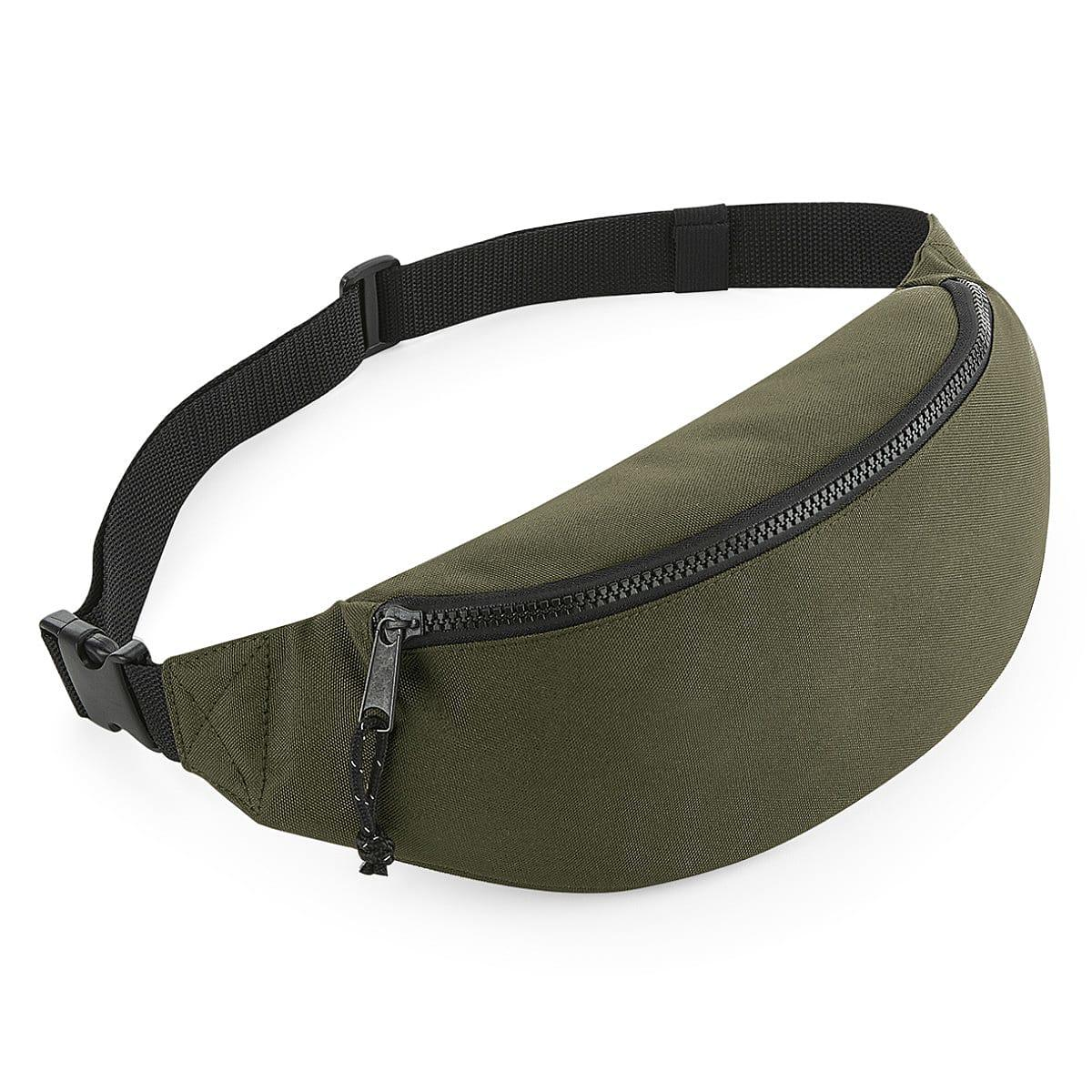 Bagbase Recycled Waistpack in Military Green (Product Code: BG282)