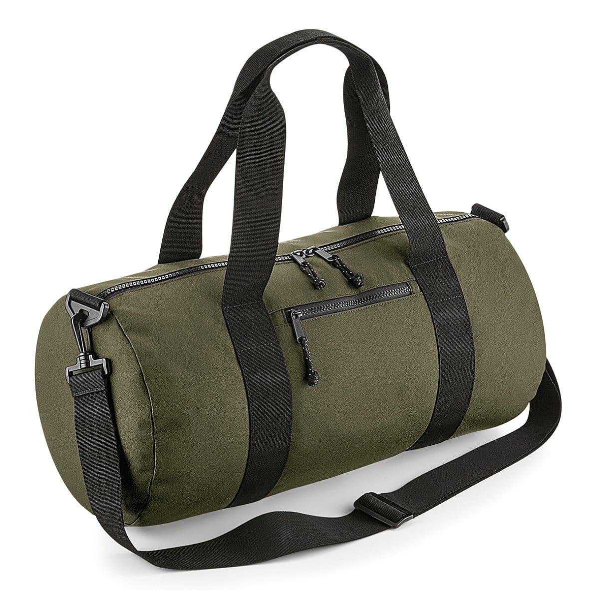 Bagbase Recycled Barrel Bag in Military Green (Product Code: BG284)
