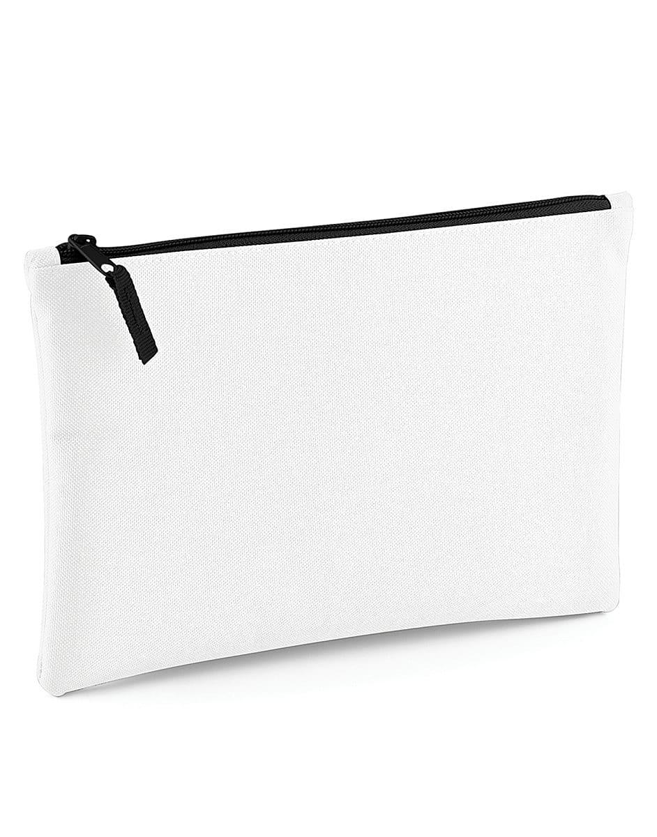Bagbase Grab Pouch in White / Black (Product Code: BG38)