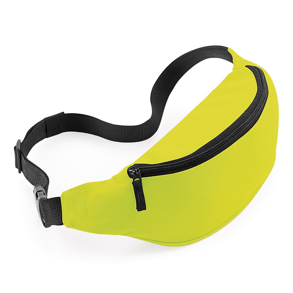 Bagbase Belt Bag in Fluorescent Yellow (Product Code: BG42)