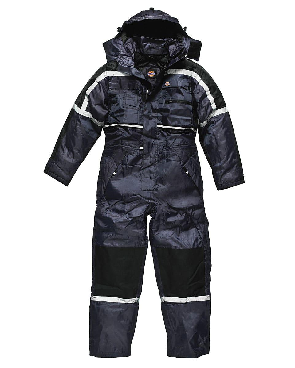 Dickies Waterproof Padded Coverall in Navy Blue (Product Code: WP15000)