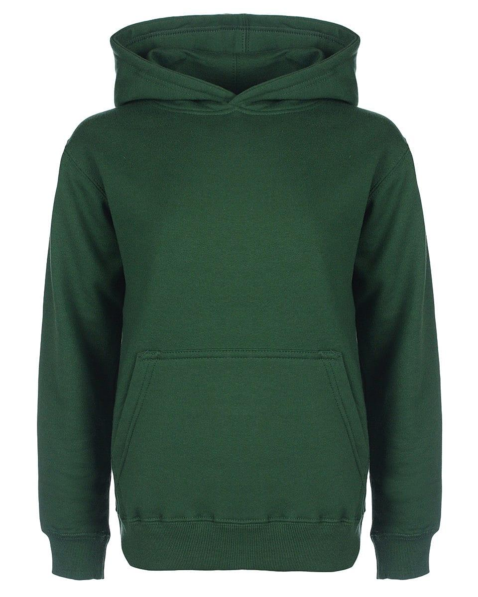 FDM Junior Hoodie in Forest Green (Product Code: FH004)