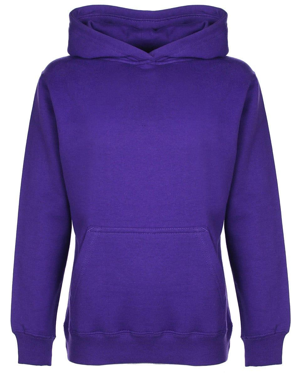 FDM Junior Hoodie in Purple (Product Code: FH004)