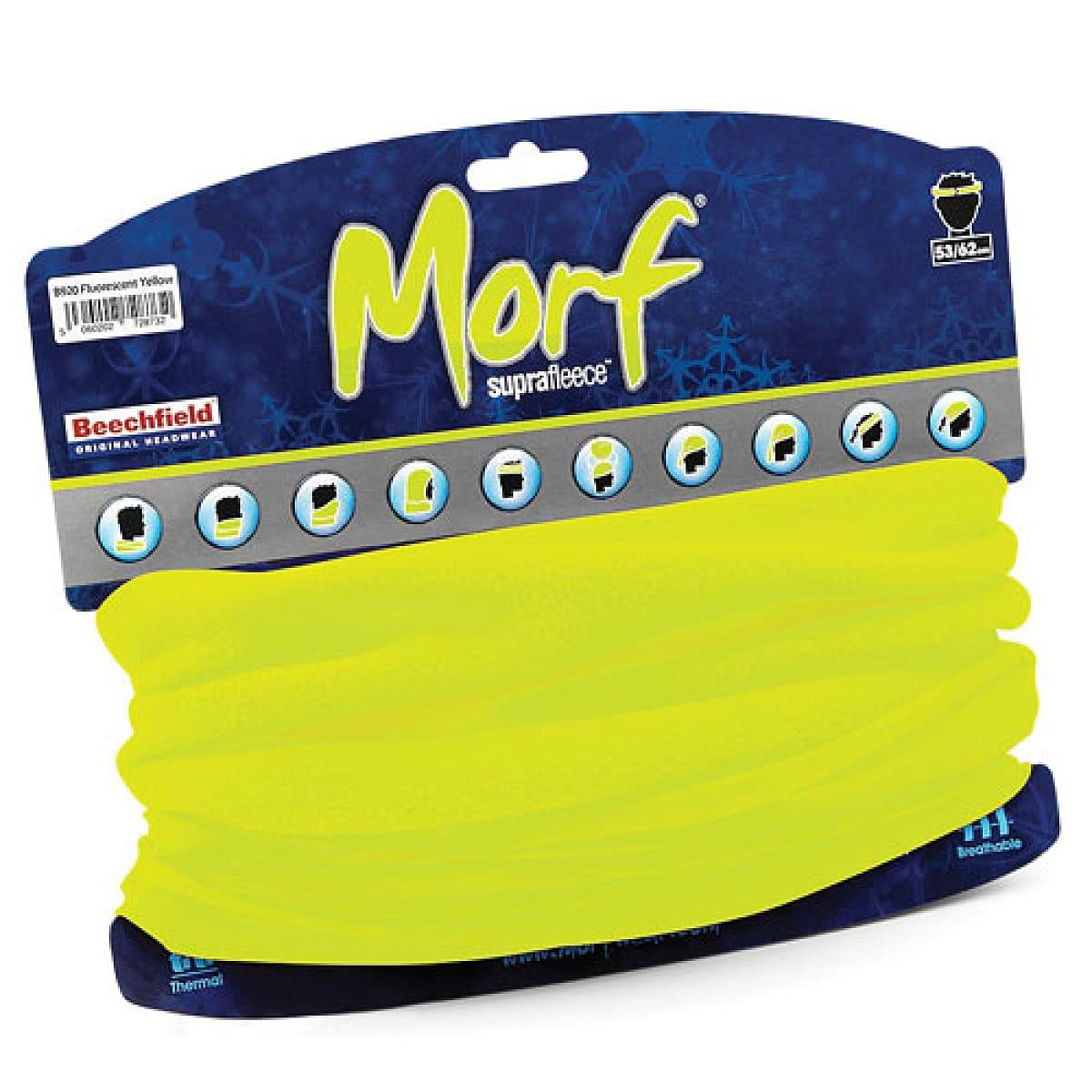 Beechfield Morf Superfleece Snood in Fluorescent Yellow (Product Code: B920)