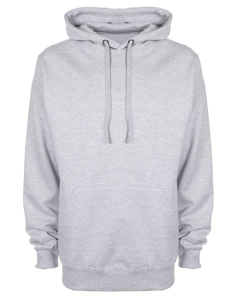 FDM Unisex Tagless Hoodie in Heather Grey (Product Code: TH001)
