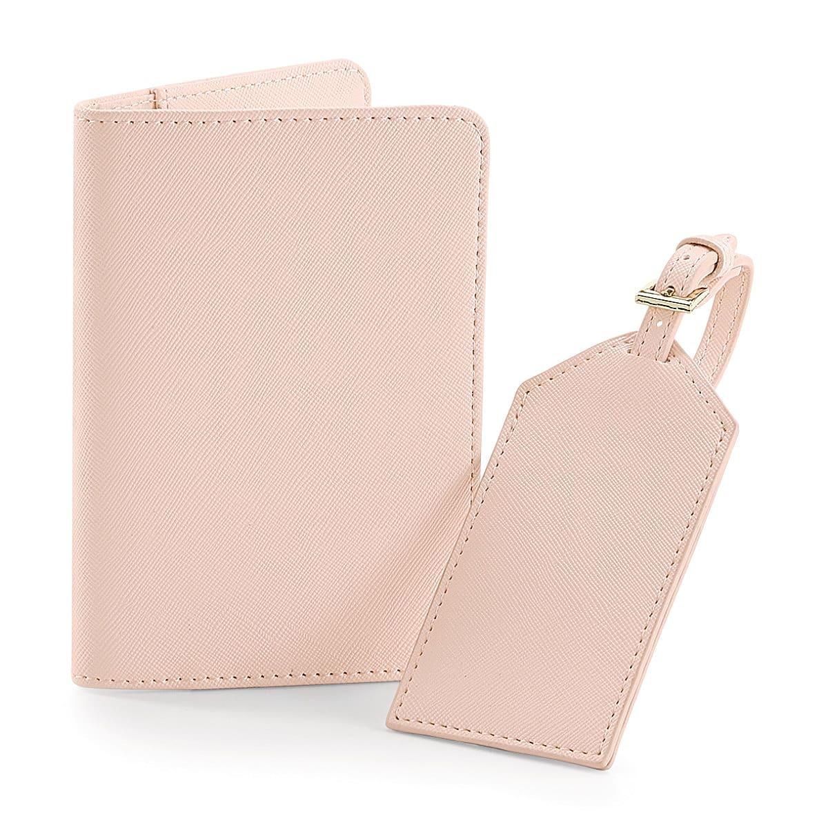 Bagbase Boutique Travel Set in Soft Pink (Product Code: BG755)
